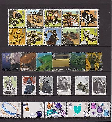 Qeii Gb Mnh Stamp 2005 Full Complete Commemorative Stamps Year Set As Issued