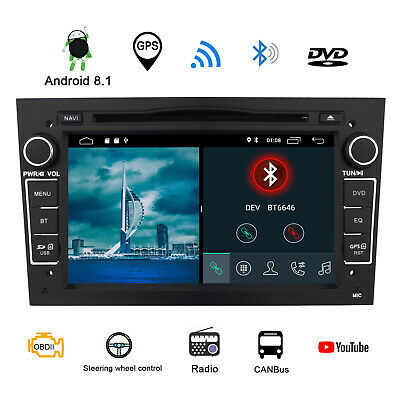 Android 5.1 Car DVD Player GPS Vauxhall Opel Astra Zafira Vectra C Corsa 3G WIFI