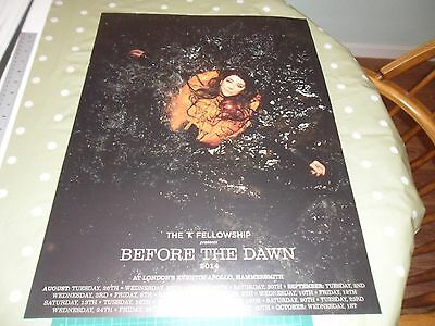 Kate Bush Before The Dawn Concert Poster.mint Condition