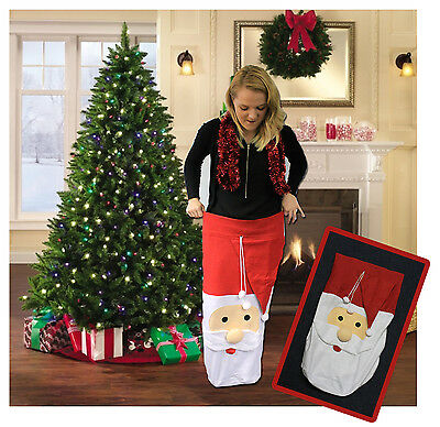 Large Jumbo Father Christmas Santa Sack Stocking Gift Bag Presents Xmas Toy Tree