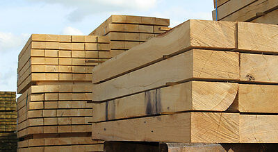 Oak Timber Garden Railway Sleepers **Large Quantities Available**