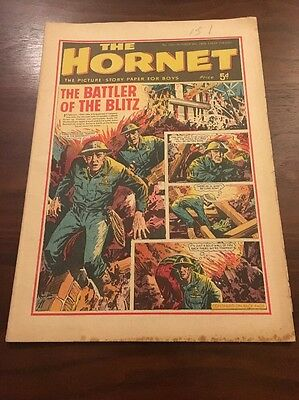 The HORNET Comic - Issue 109 - Date 09/10/65 UK Paper Comic 1965