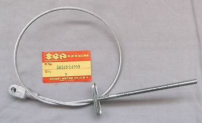 Genuine Suzuki RM125 RM250 RM465 Rear Brake Cable  58510-14200 Bremszug
