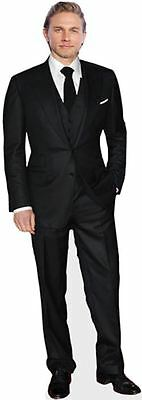 Charlie Hunnam Cardboard Cutout (life size OR mini size). Standee. Stand Up.