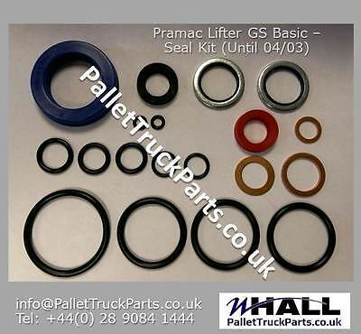 Seal kit for PRAMAC LIFTER GS BASIC (up to 04/03) hand pallet truck/ pump truck