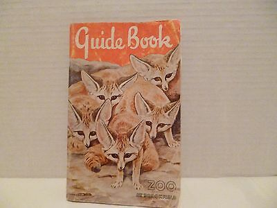 Vintage 1963 Brookfield Zoological Park Guide Book
