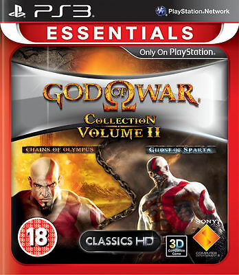 God of War Collection Volume II 2 PS3 Brand NEW *DISPATCHED FROM BRISBANE*