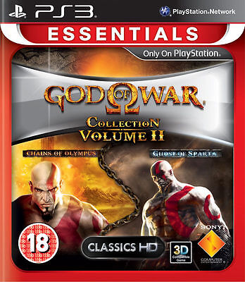 God of War Collection Volume II 2 PS3 Brand NEW