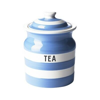 Cornish Blue Tea Storage Jar by T.G.Green Cornishware