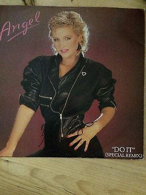 "ANGEL - Do It ~ 12"" Vinyl Single Picture Sleeve1985 RBRT2"