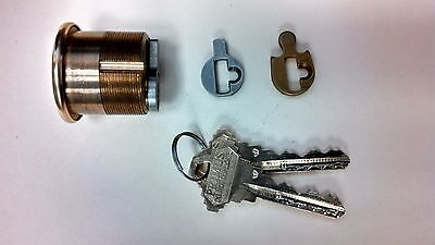 Two Schlage Primus Mortise Cylinders  ## Keyed Alike ##