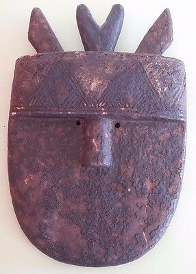 Masque Africain TOMA de GUINEE Milieu XXème Antique African Mask TOMA
