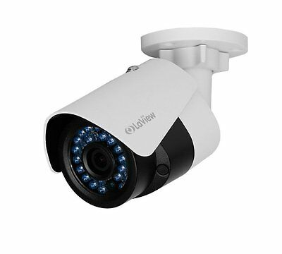 LaView 1080P IP 2MP, Day/Night/Indoor/Outdoor, White Bullet Camera, LV-PB932F4