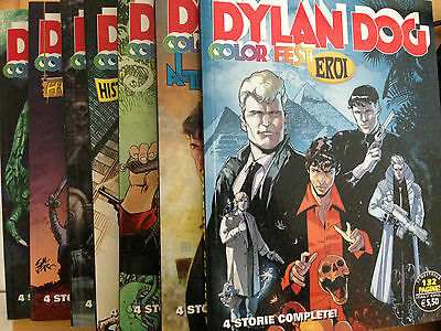 Dylan Dog Color Fest Numeri 3-7-8 Eur 2,50 Cad