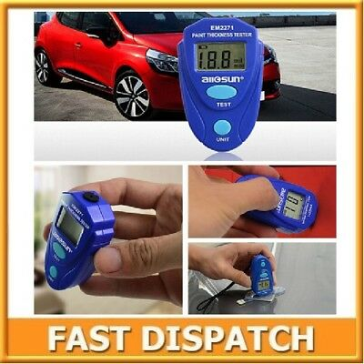 EM2271 Mini Coating Thickness Gauge Paint Thickness Tester Enamel Paint Meter