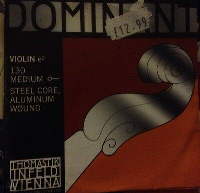 Dominant E String 4/4 Violin 130