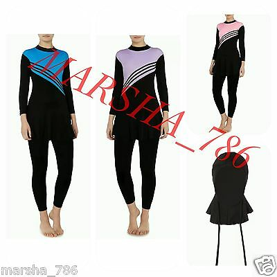 Islamic swimsuit swimming costume swimwear Burkini muslim full cover women girls