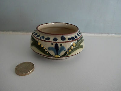 "Vintage Motto Ware Torquay Pottery- Small Sugar Bowl-""Sweeten for yourself"""