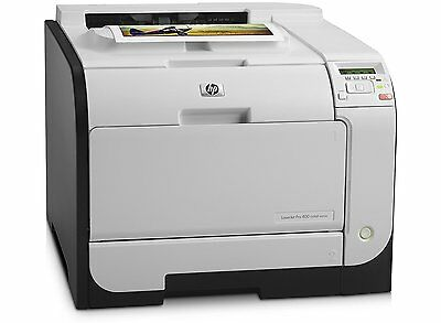 HP LaserJet Pro 400 M451DN Colour Laser Printer - Ethernet - CE957A With Toners