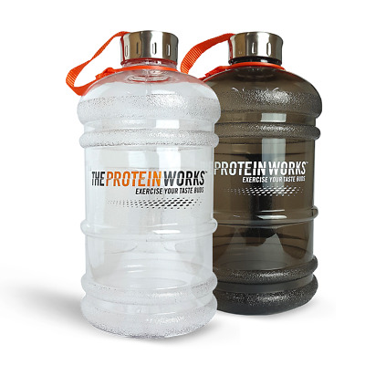 Gourde Sport- Bidon 2.2L - THE PROTEIN WORKS™ - Qualité Incroyable
