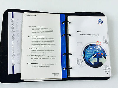 VW Volkswagen POLO Owners Manual Handbook & Service Book Pack 1996 to 2003