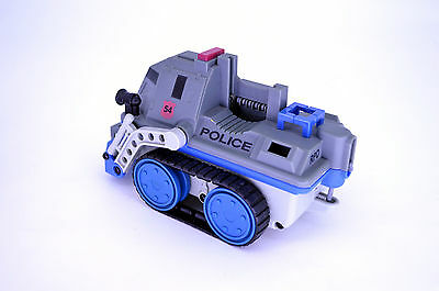 Rokenbok RC Classic Police Defender Vehicle - Gray