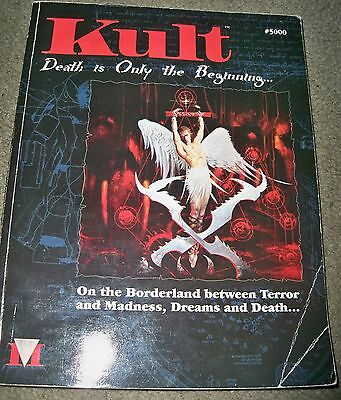 (E) Metropolis Kult Kult (1st Edition) Death is Only the Beginning- Role Play