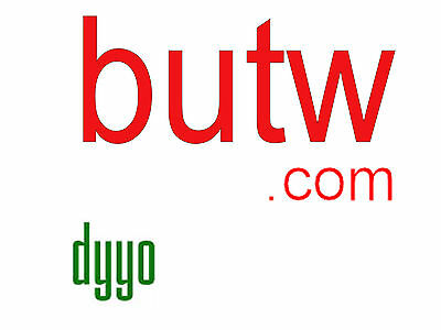butw.COM LLLL com 4 letter domain GoDaddy since 2005 butw.org active