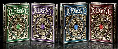 Limited Edition Regal Playing Cards 4 Deck Set Gamblers Warehouse (EPCC)