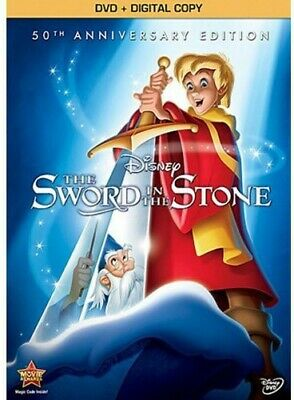 Sword In The Stone: 50th Anniversary Edition (2013, DVD NUEVO) WS (REGION 1)