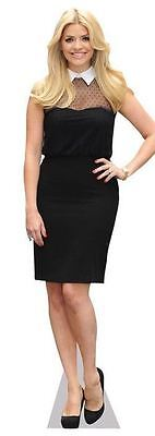 Holly Willoughby Cardboard Cutout (life size OR mini size). Standee. Stand Up.