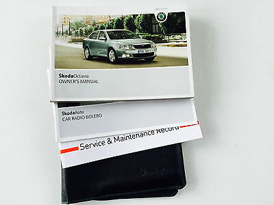 SKODA OCTAVIA Owner Manual Handbook Service Book Pack 2008 ONWARDS