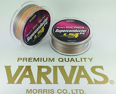 NEW!SLOW JIGING BRAID VARIVAS SUPER CONDUCTOR LOW STRECH LS4 PE 300m