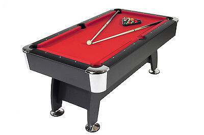 Strikeworth Pro American 6ft Home Pool Table (Red Cloth)