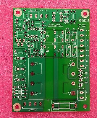 DIY PCB - Power-on delay circuit for tube amplifiers