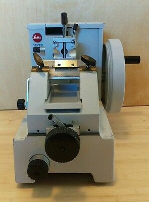 Leitz 1512 Rotary Manual Microtome Lab Equipment