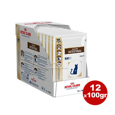 "Royal Canin Diet Veterinary Feline ""gastro Intestinal"" - Húmedo Gatos 12X100 Gr"