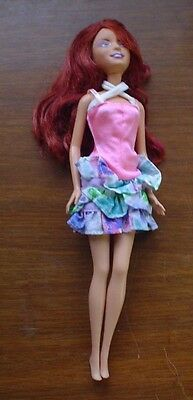 Lindsay Lohan Barbie Doll With Outfit