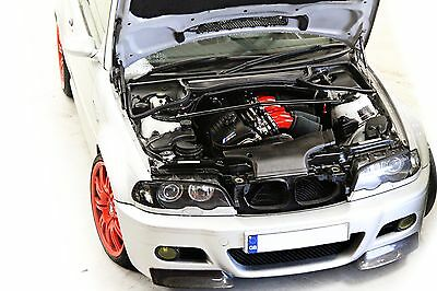 BMW E46 M3 Z4m s54 VELOCITY STACKS INDUCTION CONVERSION full kit CSL AIRBOX