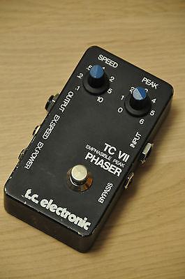 Guitar Effect Pedal Phaser t.c. electronic TC VII Emphasible Peak