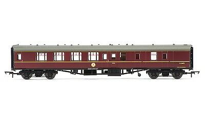 Hornby BR Mk1 Coach Corridor Brake 2nd Class Maroon with lights R4716