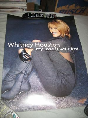 WHITNEY HOUSTON-(my love-your love)-18X24 POSTER-NMINT