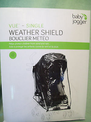 Baby Jogger Vue-Single Weather Shield