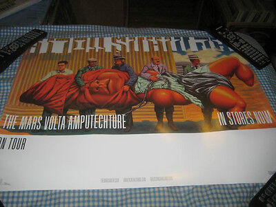 THE MARS VOLTA-(amputechture)-1 POSTER-18X24-NMINT-RARE