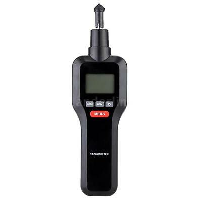 2 in 1 Non-contact & Contact Digital Tachometer Tach RPM Rotate Speed Meter D0X3