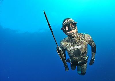 Cressi Spearfishing /photography, Wet Suit 5MM Technica Mk11 2 Piece Nearly New