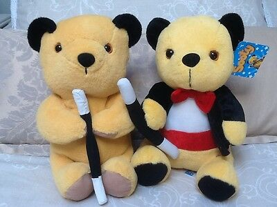 Sooty & Sweep ~ Sooty Plush Toys x 2
