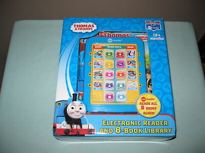 Me Reader Thomas & Friends Electronic Reader And 8-Book Library-Learning