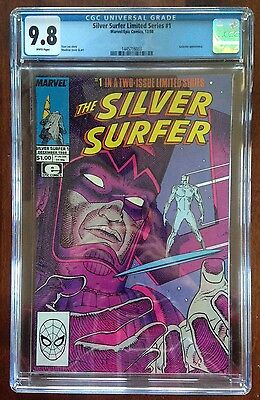 Silver Surfer Limited Series #1 CGC 9.8 (1988) Marvel/Epic Comics