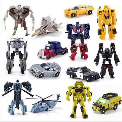 Kids Transformers Robot Car Action Figures Classic Toys Child Boys XMAS Gift